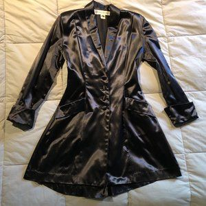 NORMAL KAMALI HEAVY SATIN 'GOTH' WOMEN'S JACKET